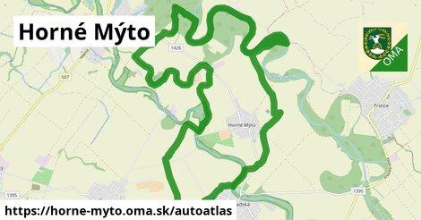 ikona Mapa autoatlas  horne-myto