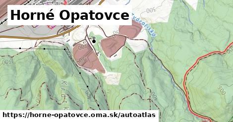 ikona Mapa autoatlas  horne-opatovce