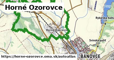 ikona Mapa autoatlas  horne-ozorovce