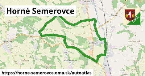 ikona Mapa autoatlas  horne-semerovce