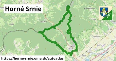 ikona Mapa autoatlas v horne-srnie