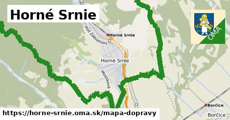 ikona Mapa dopravy mapa-dopravy v horne-srnie