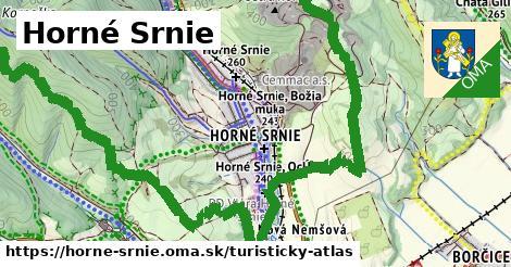 ikona Turistická mapa turisticky-atlas  horne-srnie