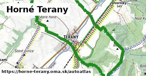 ikona Mapa autoatlas  horne-terany