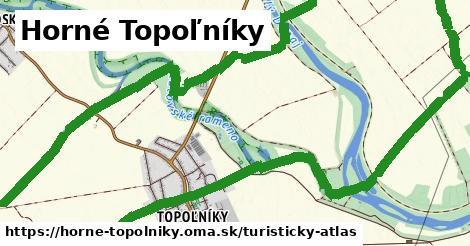 ikona Horné Topoľníky: 2,7km trás turisticky-atlas  horne-topolniky