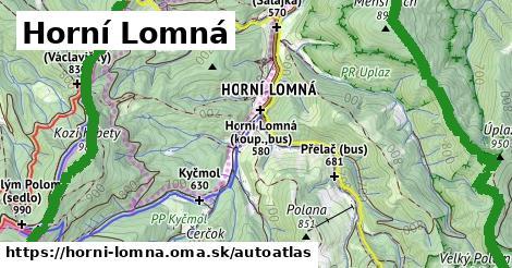 ikona Mapa autoatlas  horni-lomna