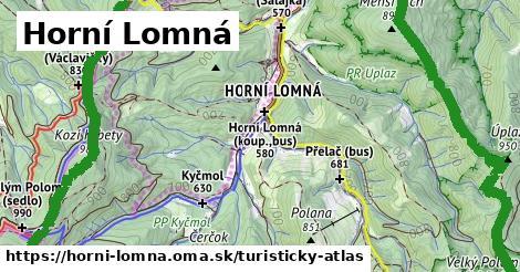 ikona Turistická mapa turisticky-atlas  horni-lomna