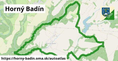 ikona Mapa autoatlas  horny-badin