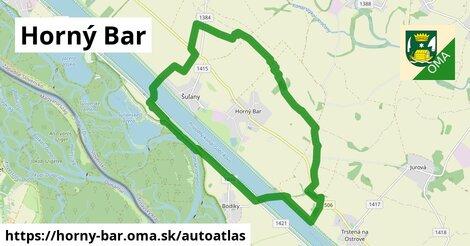 ikona Mapa autoatlas  horny-bar