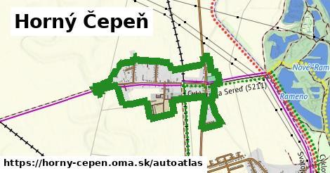 ikona Mapa autoatlas  horny-cepen