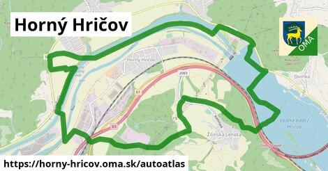 ikona Mapa autoatlas  horny-hricov