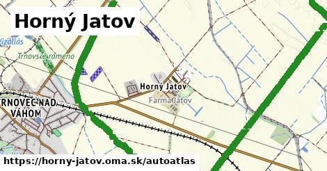 ikona Mapa autoatlas  horny-jatov