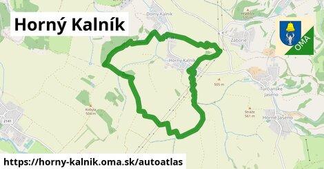 ikona Mapa autoatlas  horny-kalnik