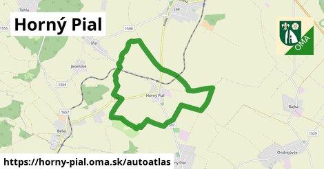ikona Mapa autoatlas  horny-pial