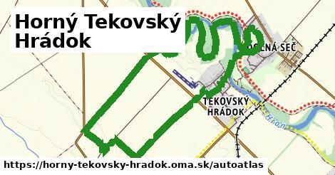 ikona Mapa autoatlas  horny-tekovsky-hradok
