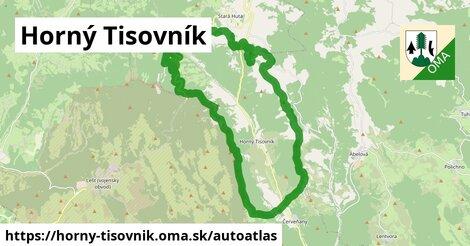 ikona Mapa autoatlas  horny-tisovnik