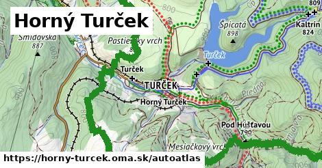 ikona Mapa autoatlas  horny-turcek