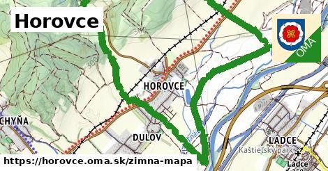 ikona Horovce: 0m trás zimna-mapa v horovce