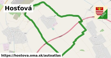 ikona Mapa autoatlas  hostova