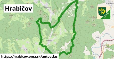 ikona Mapa autoatlas  hrabicov