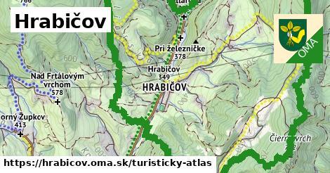 ikona Turistická mapa turisticky-atlas  hrabicov