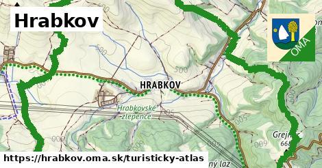 ikona Turistická mapa turisticky-atlas  hrabkov