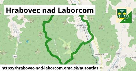 ikona Mapa autoatlas  hrabovec-nad-laborcom