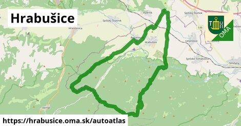 ikona Mapa autoatlas  hrabusice