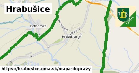 ikona Mapa dopravy mapa-dopravy  hrabusice