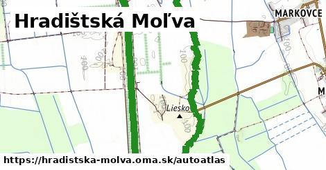 ikona Mapa autoatlas  hradistska-molva
