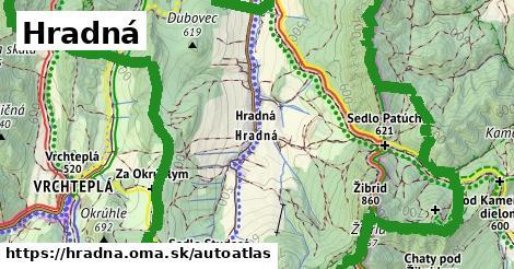 ikona Mapa autoatlas  hradna