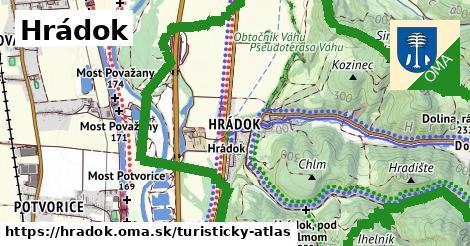 ikona Turistická mapa turisticky-atlas  hradok