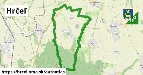 ikona Mapa autoatlas  hrcel