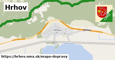 ikona Mapa dopravy mapa-dopravy  hrhov