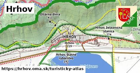 ikona Turistická mapa turisticky-atlas  hrhov