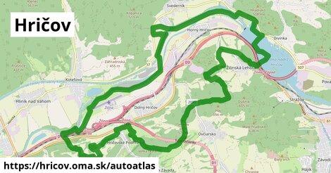 ikona Mapa autoatlas  hricov