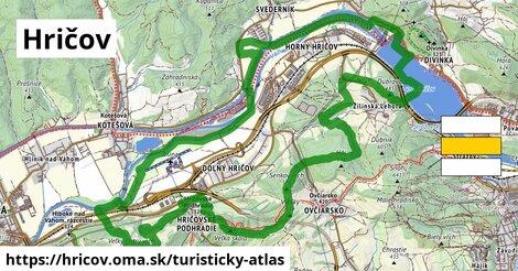 ikona Turistická mapa turisticky-atlas  hricov