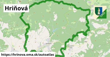 ikona Mapa autoatlas  hrinova