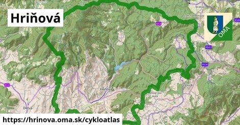 ikona Hriňová: 54km trás cykloatlas  hrinova
