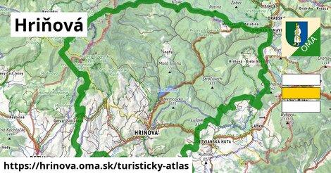 ikona Hriňová: 56km trás turisticky-atlas  hrinova