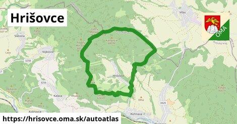ikona Mapa autoatlas  hrisovce