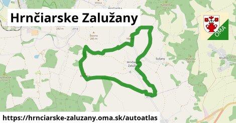 ikona Mapa autoatlas  hrnciarske-zaluzany