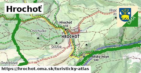 ikona Turistická mapa turisticky-atlas  hrochot