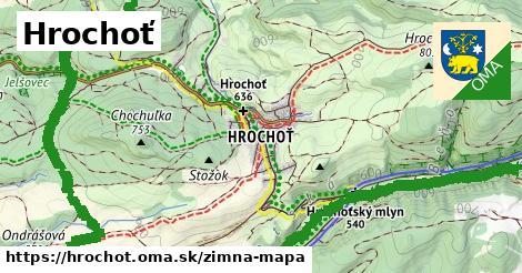 ikona Zimná mapa zimna-mapa  hrochot