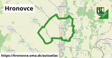 ikona Mapa autoatlas  hronovce
