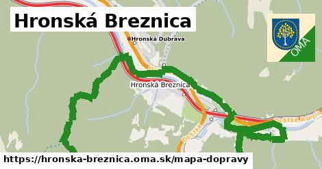 ikona Mapa dopravy mapa-dopravy  hronska-breznica