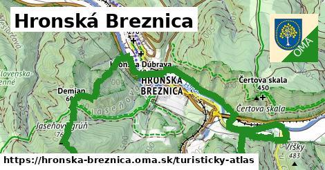ikona Turistická mapa turisticky-atlas  hronska-breznica