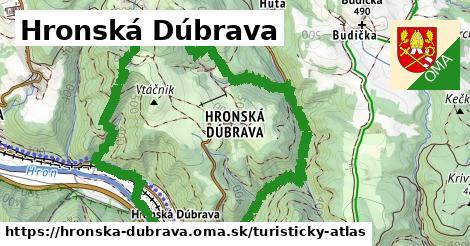ikona Turistická mapa turisticky-atlas  hronska-dubrava