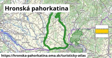 ikona Turistická mapa turisticky-atlas  hronska-pahorkatina
