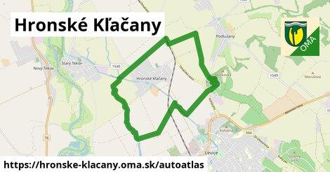 ikona Mapa autoatlas  hronske-klacany